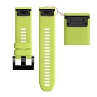 Ремешок на запястье для Garmin Garmin Fenix 5, MARQ, Quatix 5 и Forerunner 935/945 Bands Green Silicone