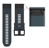 Ремешок на запястье для Garmin Fenix 5x/6x Watch Bands Granite Blue Silicone