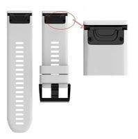 Ремешок на запястье для Garmin Fenix 5x Watch Bands White Silicone