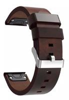 Ремешок на запястье для Garmin Fenix 5, Quatix 5 и Forerunner 935 Bands Brown Leather