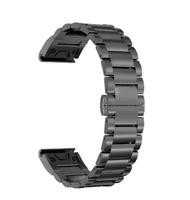 Ремешок на запястье для Garmin Fenix 5, MARQ, Quatix 5 и Forerunner 935 Bands Slate Gray Stainless Steel
