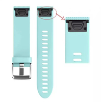 Ремешок на запястье для Garmin Fenix 5s/6s Watch Bands Frost Blue Silicone