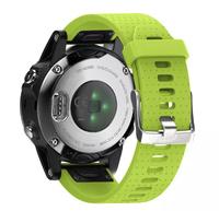 Ремешок на запястье для Garmin Fenix 5s Watch Bands Green Silicone