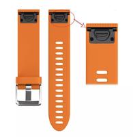 Ремешок на запястье для Garmin Fenix 5s/6s Watch Bands Orange Silicone