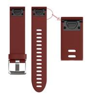 Ремешок на запястье для Garmin Fenix 5s/6s Watch Bands Red Silicone
