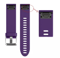 Ремешок на запястье для Garmin Fenix 5s/6s Watch Bands Violet Silicone