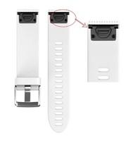 Ремешок на запястье для Garmin Fenix 5s/6s Watch Bands White Silicone