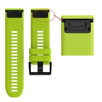 Ремешок на запястье для Garmin Fenix 5x Watch Bands Green Silicone
