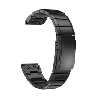 Ремешок на запястье для Garmin Fenix 5x Watch Bands Slate Gray Stainless Steel