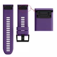 Ремешок на запястье для Garmin Fenix 5x Watch Bands Violet Silicone