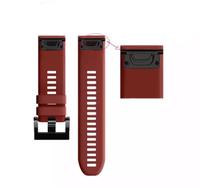 Ремешок на запястье для Garmin Garmin Fenix 5/6, MARQ, Quatix 5 и Forerunner 935/945 Bands Red Silicone