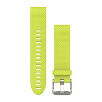 Ремешок на запястье для Garmin QuickFit™ 20 Watch Bands Amp Yellow Silicone