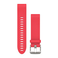 Ремешок на запястье для Garmin QuickFit™ 20 Watch Bands Azalea Pink Silicone