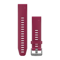 Ремешок на запястье для Garmin QuickFit™ 20 Watch Bands Cerise Silicone