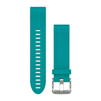 Ремешок на запястье для Garmin QuickFit™ 20 Watch Bands Turquoise Silicone