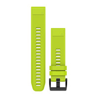Ремешок на запястье для Garmin QuickFit™ 22 Watch Bands Amp Yellow Silicone