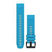 Ремешок на запястье для Garmin QuickFit™ 22 Watch Bands Cirrus Blue Silicone