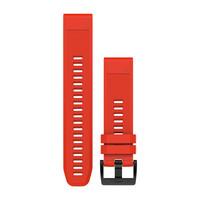 Ремешок на запястье для Garmin QuickFit™ 22 Watch Bands Flame Red Silicone
