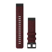 Ремешок на запястье для Garmin QuickFit™ 22 Watch Bands Heathered Red Nylon