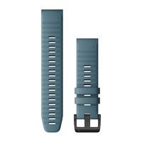 Ремешок на запястье для Garmin QuickFit™ 22 Watch Bands Lakeside Blue Silicone