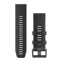 Ремешок на запястье для Garmin QuickFit™ 26 Watch Bands Black Silicone