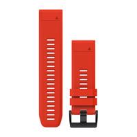 Ремешок на запястье для Garmin QuickFit™ 26 Watch Bands Flame Red Silicone