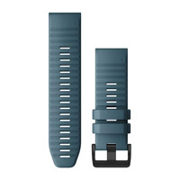 Ремешок на запястье для Garmin QuickFit™ 26 Watch Bands Lakeside Blue Silicone