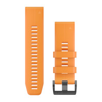 Ремешок на запястье для Garmin QuickFit™ 26 Watch Bands Solar Flare Orange Silicone