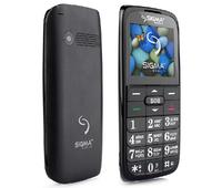 Мобильный телефон (бабушкофон) Sigma mobile Comfort 50 Slim 2 Black