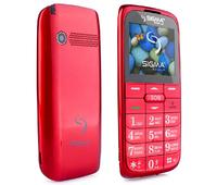 Мобильный телефон (бабушкофон) Sigma mobile Comfort 50 Slim 2 Red