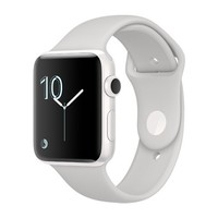Смарт-часы Apple Watch Edition Series 2 38mm White Ceramic Case with White Sport Band (MNPF2)