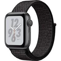 Смарт-часы Apple Watch Nike+ Series 4 GPS 40mm Gray Alum. w. Black Nike Sport l. Gray Alum. (MU7G2)