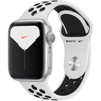 Смарт-часы Apple Watch Nike Series 5 GPS 40mm Silver Aluminum w. Silver Aluminum (MX3R2)