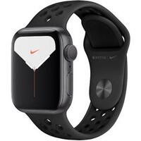Смарт-часы Apple Watch Nike Series 5 GPS 40mm Space Gray Aluminum w. Space Gray Aluminum (MX3T2)