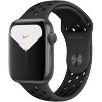Смарт-часы Apple Watch Nike Series 5 GPS 44mm Space Gray Aluminum w. Space Gray Aluminum (MX3W2)