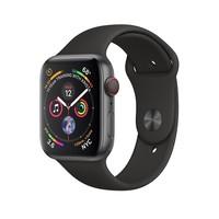 Смарт-часы Apple Watch Series 4 GPS + LTE 44mm Gray Alum. w. Black Sport b. Gray Alum. (MTUW2, MTVU2)