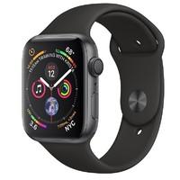 Смарт-часы Apple Watch Series 4 GPS 40mm Gray Alum. w. Black Sport b. Gray Alum. (MU662)