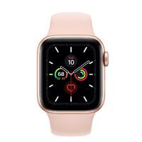 Смарт-часы Apple Watch Series 5 GPS 40mm Gold Aluminum w. Pink Sand b.- Gold Aluminum (MWV72)