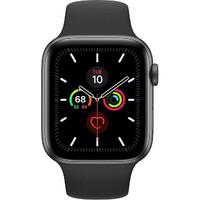 Смарт-часы Apple Watch Series 5 LTE 44mm Space Gray Aluminum w. Black b.- Space Gray Aluminum (MWW12)