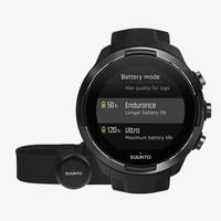 Смарт-часы Suunto 9 G1 BARO Black + HR belt (SS050089000)