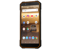Смартфон Sigma mobile X-treme PQ53 Black-Orange