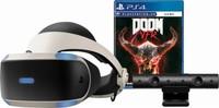 Sony PlayStation VR + PlayStation Camera + game DOOM
