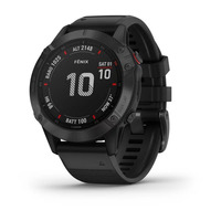 Спортивные часы Garmin Fenix 6 Pro Black with Black Band