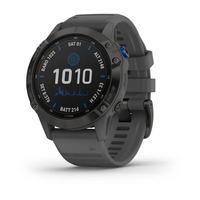 Спортивные часы Garmin Fenix 6 Pro Solar Edition Black with Slate Gray Band