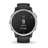 Спортивные часы Garmin Fenix 6S Solar Silver with black band
