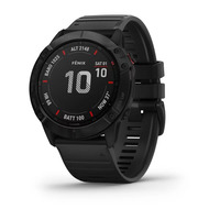 Спортивные часы Garmin Fenix 6X Pro - Black with Black Band