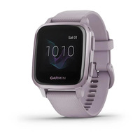 Спортивные часы Garmin Venu Sq Metallic Orchid Aluminum Bezel with Orchid Case and Silicone Band