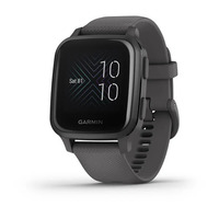 Спортивные часы Garmin Venu Sq Slate Aluminum Bezel with Shadow Gray Case and Silicone Band