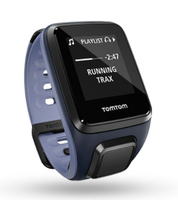Спортивные часы TomTom Runner 2 Cardio + Music Blue/Purple (S)