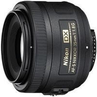 Стандартный объектив Nikon AF-S DX Nikkor 35mm f/1.8G